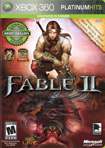Fable 2 Platinum Attention brand Hits -Xbox 360 Shipping included