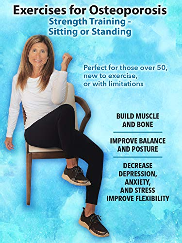 Osteoporosis Exercises, Standing and Sitting, easy...