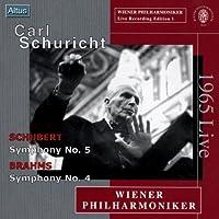 Carl Schuricht: Schubert Symphony No. 5. Brahms Symphony No. 4; 1965 Live (2003-07-28)
