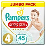 Pampers Premium Protection Pants Größe 4, 45 Windeln