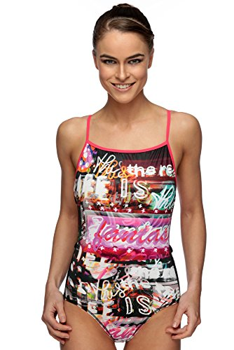 Maru Queen Pacer Vision Back Swimsuit Size 38