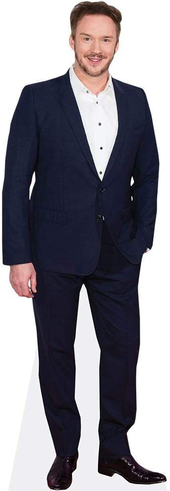 Blue Suit Russell Watson Life Size Cutout