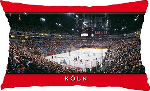 Blue-Letter Köln Eishockey Stadionkissen (50 cm x 30 cm)