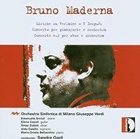 Maderna - Piano Concerto; Oboe Concerto No 2 (2002-07-01)