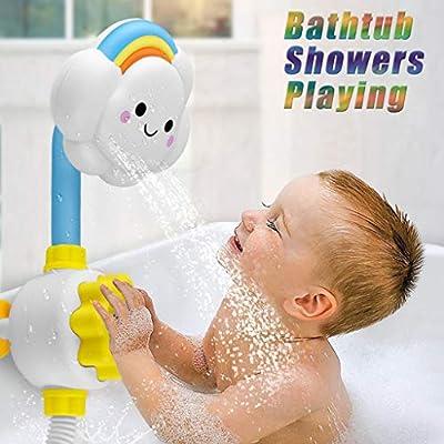 XLSTORE Cloud Baby Bath Toys Bathtub Showers Ba...