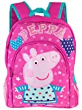Peppa Pig Girls Hearts and Stars Backpack