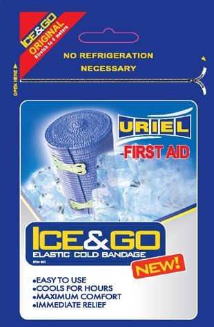 Ice & Go Kühlbandage, elastisch
