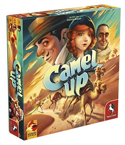 Pegasus Spiele 54595G - Camel Up 2nd Edition (eggertspiele)