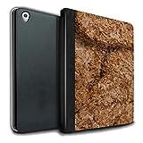 Stuff4 PU Cuero Funda/Carcasa/Folio Libro en para el Apple iPad Pro 9.7 Tablet/Serie: Cereales Desayuno - Weetabix