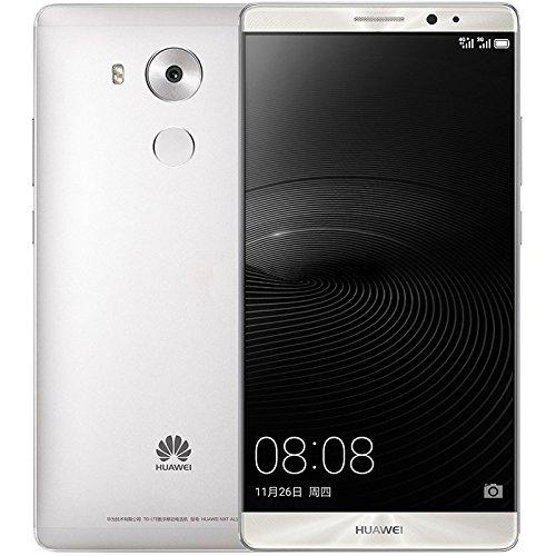 Huawei Mate 8 NXT-L29 32GB Dual SIM Factory Unlocked GSM Smartphone - International Version, No Warranty (Moonlight Silver)