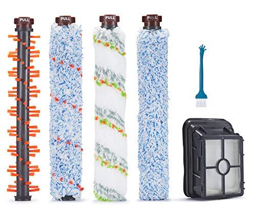 Supremery 1x spazzola principale multiuso + 1x spazzola a rullo per animali domestici + 1x spazzola per tappeti + 1x spazzola per pavimenti + 1 filtro per Bissell CrossWave aspirapolvere