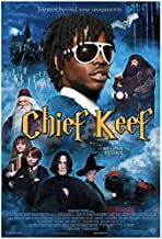 NRRTBWDHL Chief Keef - American Hip Hop Rapper Music Poster Rapper Kitchen Decoration Wall Decoration Print on canvas-50x70cm No Frame