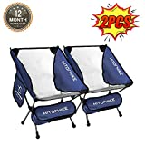 Best Backpacking Chairs - Hitorhike Camping Chair Breathable Mesh Construction 2 Side Review