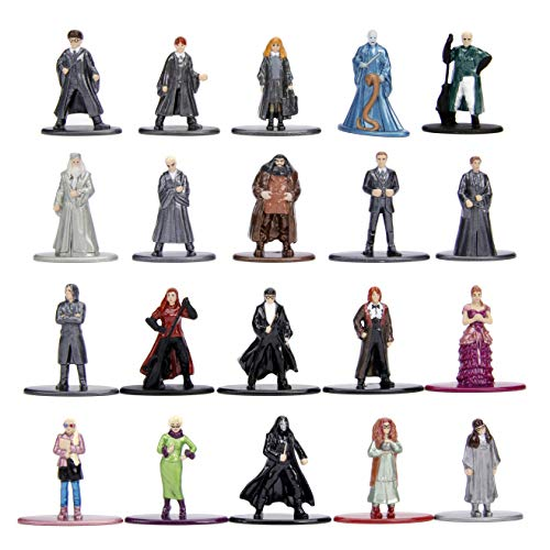 "Harry Potter 1.65"" Die-cast Metal Collectible Figures 20-Pack Wave 3, Toys for Kids and Adults"