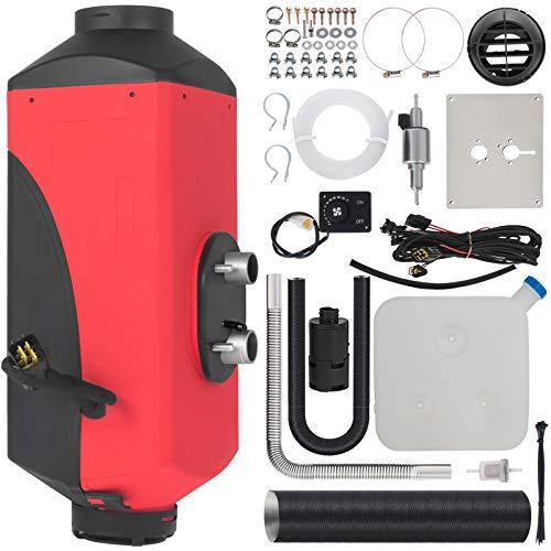 HODOY Riscaldatore Digitale 3Kw Termostato Diesel Riscaldatore Elettrico 12V Riscaldatore Elettrico a Gas Per Camper Camper e Autobus (12V 3Kw)