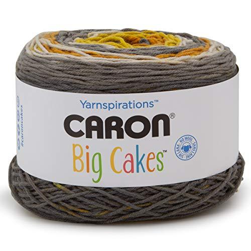 Caron Big Cakes Self Striping Yarn 603 yd/551 m 10.5oz/300 g (Honey Glaze)