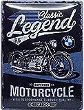 Nostalgic-Art 23249 Targa Vintage BMW – Classic Legend –...