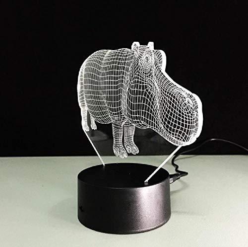 Lámpara 3D Interruptor Remoto Táctil Lámpara 3D Inalámbrica Veilleuse Enfant Novedad Decoración De Luz De Mesa Letras De Luz De Ilusión 3D