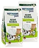 HEITMANN pure Reine Soda: Ökologischer Vielzweck-Reiniger für den Haushalt, Zugabe zu Spülmittel...