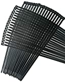 Cable ties 18 inch,Thick Premium Heavy Duty. 100 Piece Value Pack of Black Nylon Zip Ties by Strong Ties. 175 Pounds Tensile Strength, Indoor Outdoor UV Resistant.
