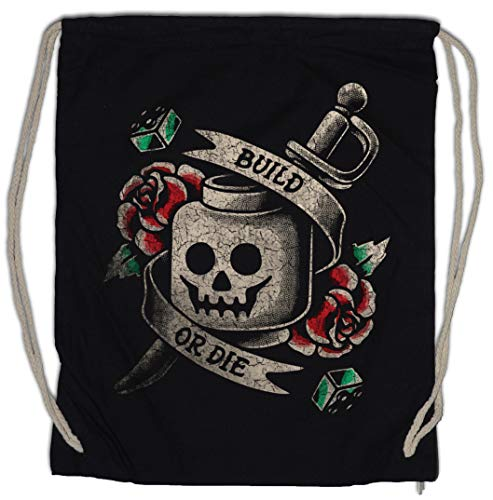 Urban Backwoods Build Or Die Bolsa de Cuerdas con Cordón Gimnasio