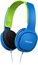 Philips Kinderkopfhörer SHK2000BL/00 Kinderkopfhörer On Ear (Lautstärkebegrenzung 85..
