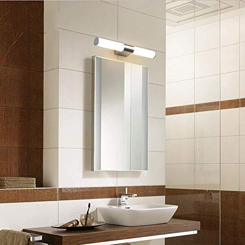 MEIXIAN Matte spiegellamp, moderne LED cilinderstang verticaal horizontale buiswandlamp kaptafel wandlamp 12W eenvoudig retro