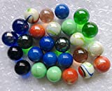 Qich 12pieces assorted color 1'shooter marbles