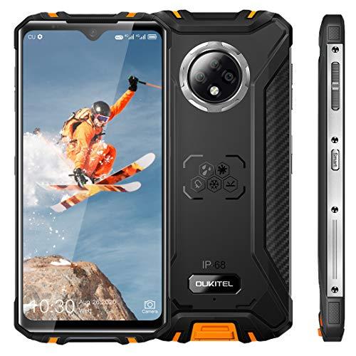 OUKITEL WP8 Pro Outdoor Smartphone Ohne Vertrag,Android 10.0, 6,49 Zoll Display Octa Core 4 GB+64 GB Mobiltelefon, 5000 mAh Akku, 16 MP Dreifachkamera, 4G Dual SIM Karte, Gesichtserkennung, NFC GPS