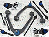 GES PARTS 2WD Fit 99-06 Silverado Sierra 1500 10PCS Suspension & Steering Kit K80942 K6539