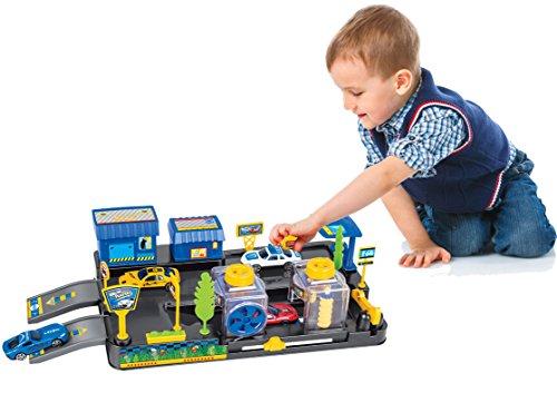 Brigamo ⛽ Auto Spielzeug Waschanlage Set inkl. 2 x Spielzeugauto & funktionierender Waschstraße ⛽