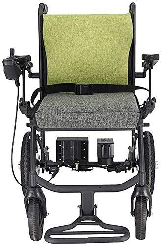 SOAR Sillas De Ruedas Electricas Silla de ruedas eléctrica, silla de ruedas eléctrica ligera, silla de ruedas eléctrica de doble función, unidad de silla eléctrica compacta con capacidad para la silla