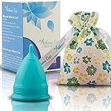 Athena Copa Menstrual – La copa menstrual más recomendada - Incluye una bolsa de regalo - Talla...