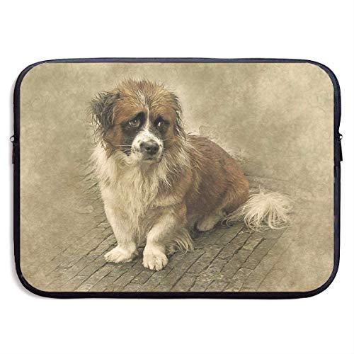 JKOVE Borsa per PC Portatile,Printed Creative Animal Texture Forest Ultrabook Briefcase Sleeve Bags Cover for MacBook Pro/Acer/Asus/Lenovo Dell