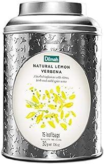 Dilmah Vivid Natural Lemon Verbena Teabag Caddy, 30 Grams