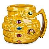 Divertente tazza tridimensionale animazione Thanos grande capacità guanto pugno tazza di ceramica tazza di acqua tazza cartone animato tazza creativo
