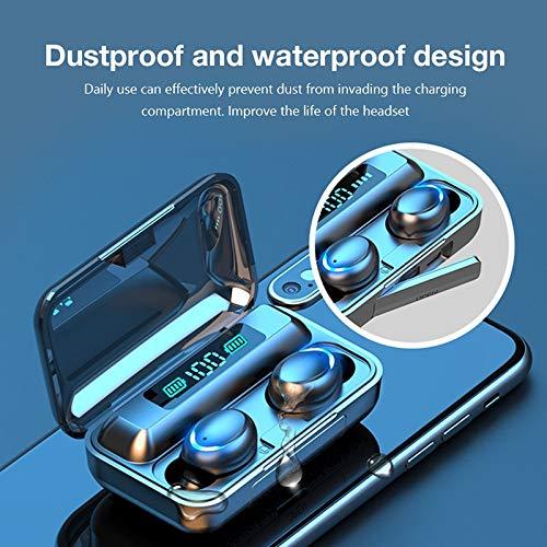 Bluetooth koptelefoon V5.0 Stereo draadloze hoofdtelefoon Sport waterdichte koptelefoon Mini echte draadloze oordopjes voor mobiel