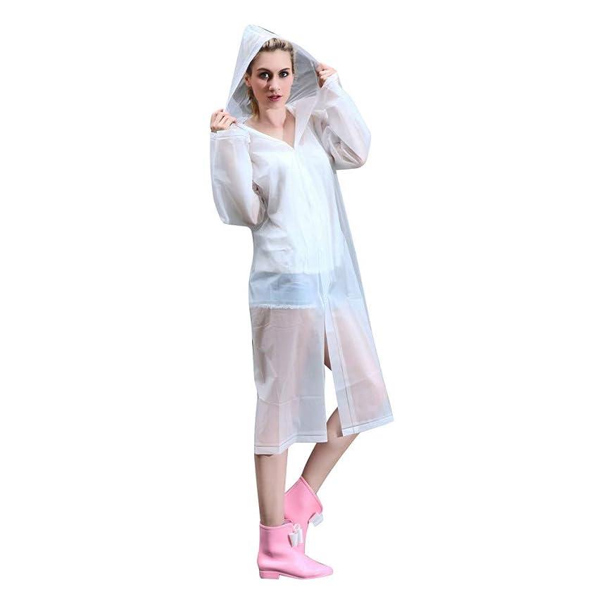 胸オペラクレアレインコート ファッションエヴァレインコート防水レインコート透明キャンプ防水レインコート