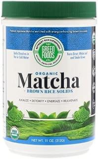 Best green foods matcha green tea 11 oz Reviews