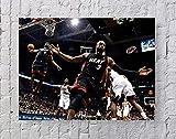 Avando Poster/Kunstdruck NBA Lebron James Dwyane Wade, 50,8