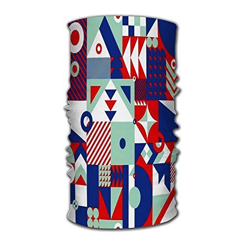 PQU Awesome 12-In 1 Bandana,New York Athletic Style NYC Schwarz Premium Fashion Head Wrap Für Gym Mountain Running