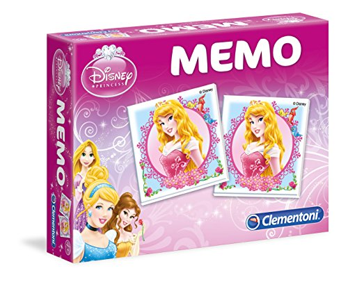 Clementoni - 13401 - Jeu Éducatif et Scientifique - Memo Games - Princesses