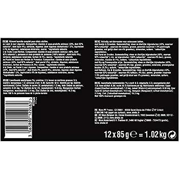 Sheba Sauces Gourmandes - Barquettes pour chat adulte, Coffret traiteur, 72 barquettes de 85g