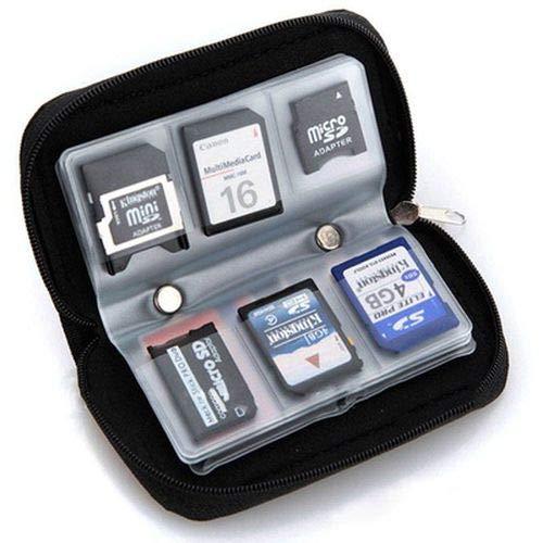 ZFstores Voor CF/SD/SDHC/MS/DS 1 stks Geheugenkaart Opslag Draagtas Geval Houder Portemonnee