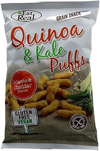 Eat Real   Quinoa Kale Puffs Jalapeno   2 x 12 x 113g