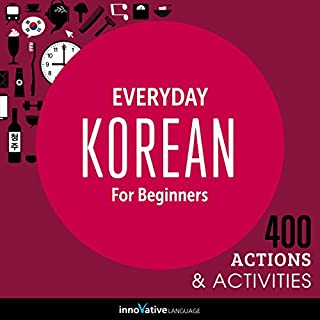 Everyday Korean for Beginners - 400 Actions & Activities cover art