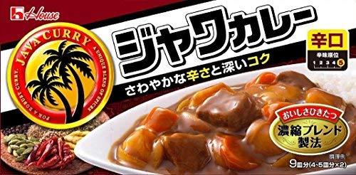 ハウス食品 ジャワカレー辛口 185g【入り数2】