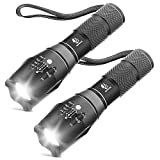Tactical Flashlight, YIFENG XML T6 Ultra Bright LED Flashlight with Adjustable Focus