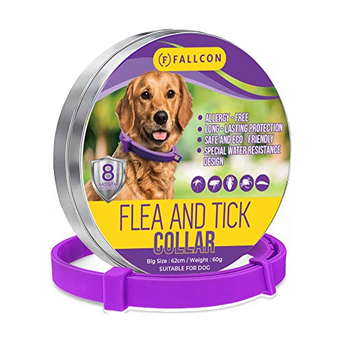 Collar Antiparasitos Perros Natural contra Pulgas,Garrapatas