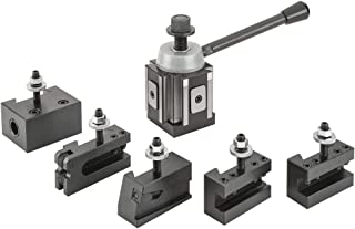 Grizzly Industrial G5691 - Quick Change Tool Post Set - 13